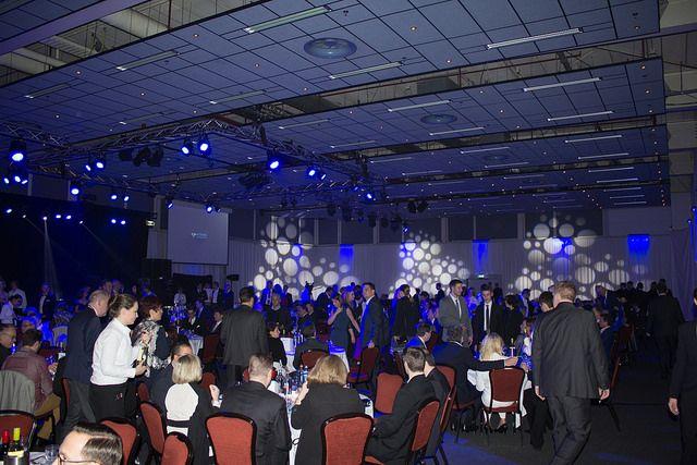 Gala-Abend auf der Network-Convention Amsterdam
