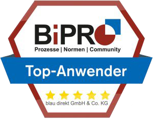 blau direkt ist BiPRO Top Anwender