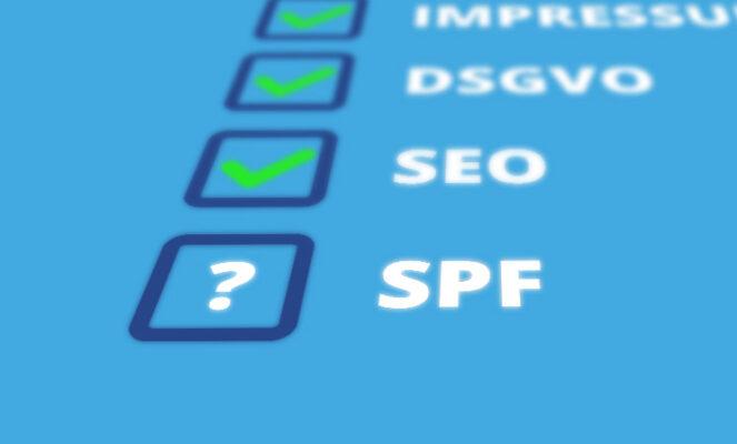 Warum ein SPF-Eintrag wichtig ist, um abgelehnte E-Mails und Spam zu verhindern.