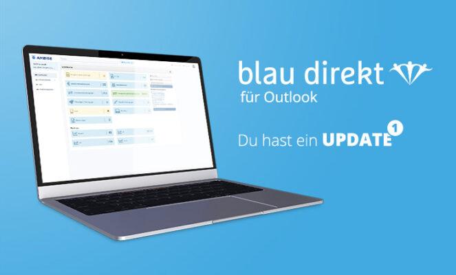 Neues Update für das blau direkt Outlook Add-in