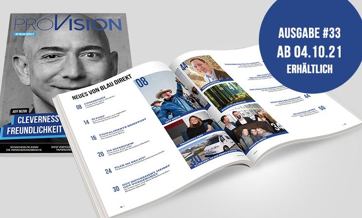 proVision - das Fachmedium von blau direkt